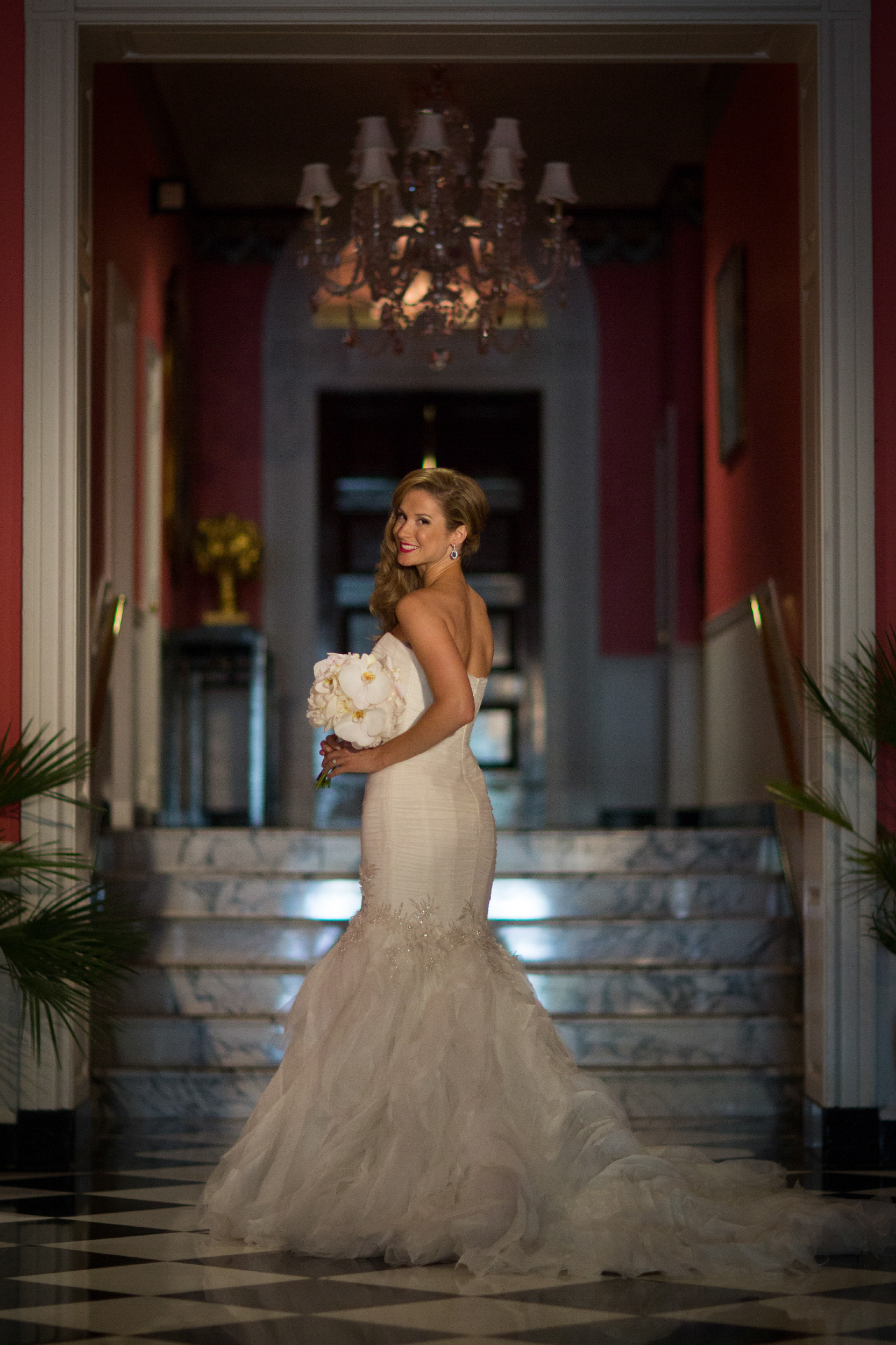 Bride at the Greenbrier