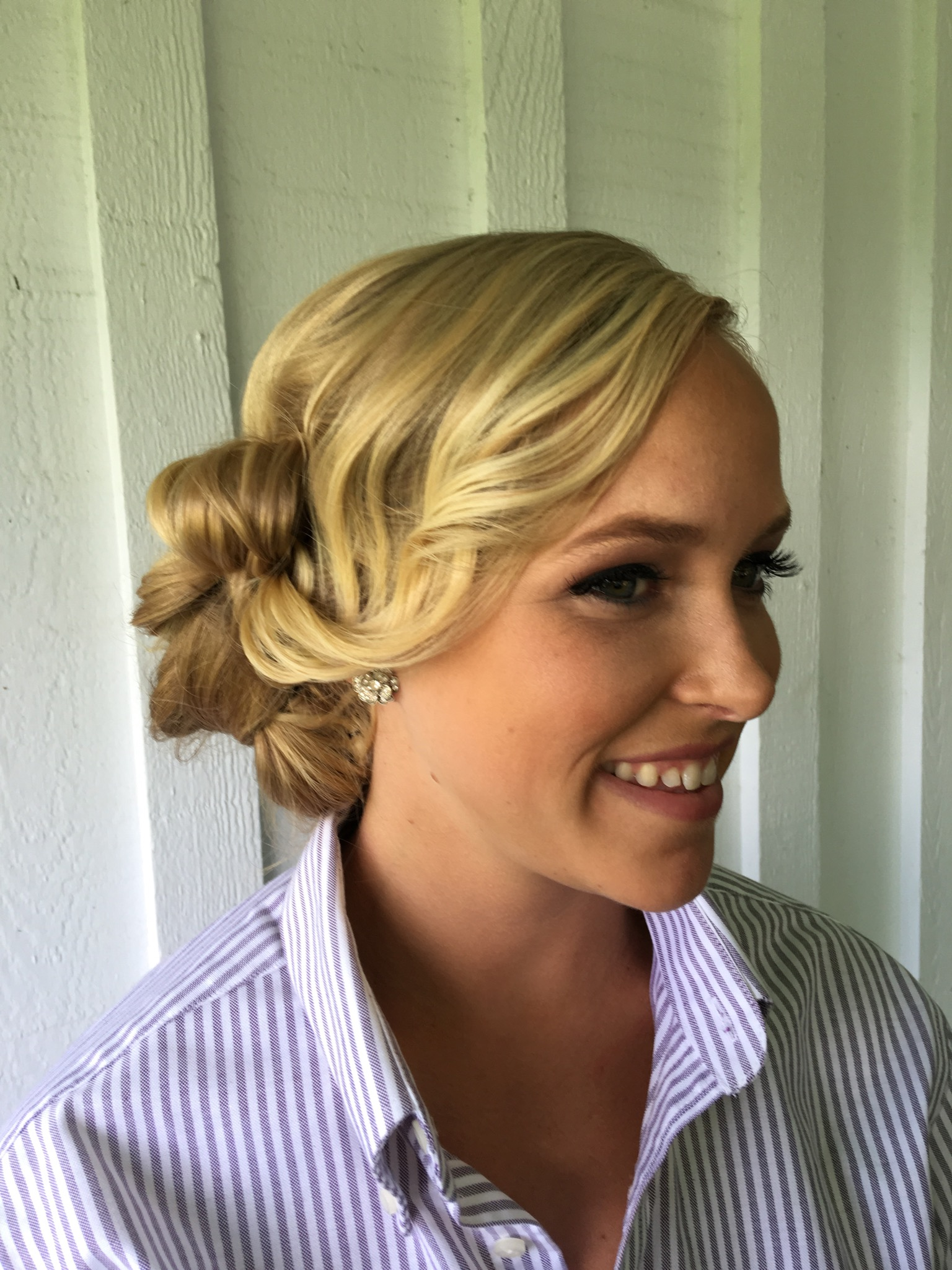 Classic Curly Updo